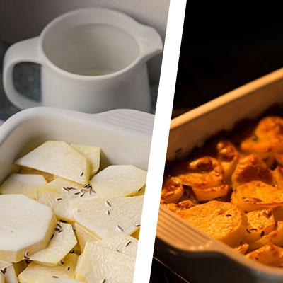 Zapečené maso s brambory - recept krok 5