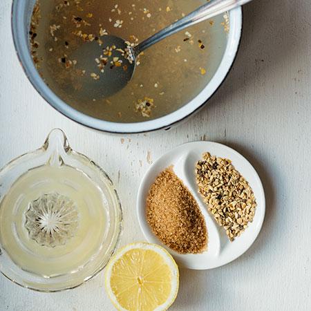 Zázvorový čaj - recept krok 1