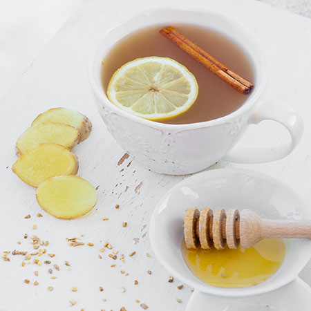 Zázvorový čaj - recept krok 3