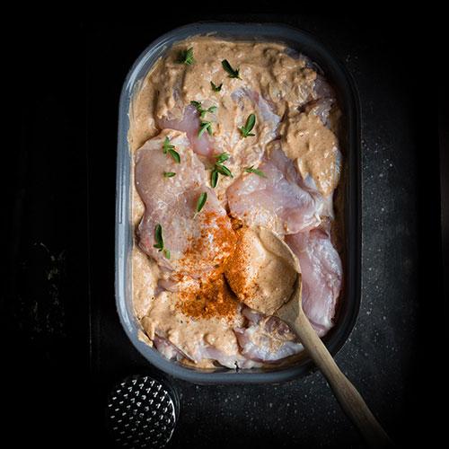 Grilovaná kuřecí prsíčka po indicku - recept krok 2