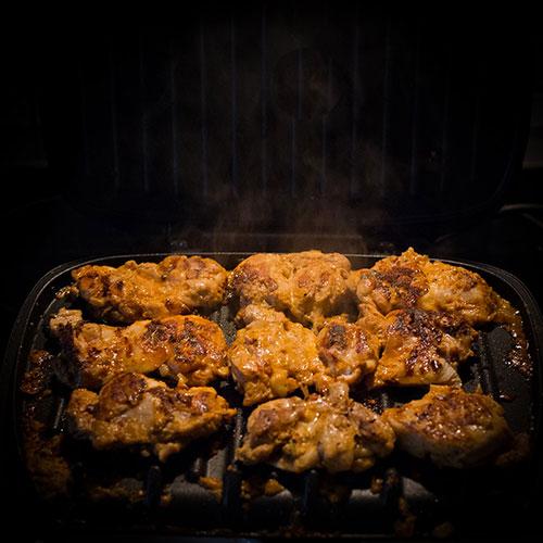 Grilovaná kuřecí prsíčka po indicku - recept krok 3