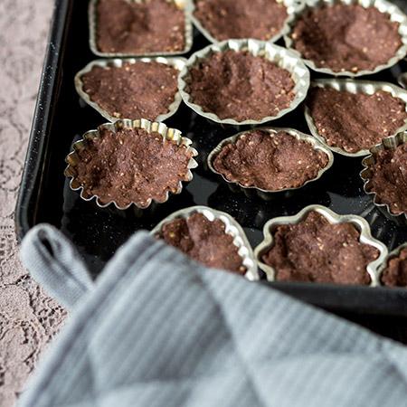 Kakaové pracny - recept krok 4