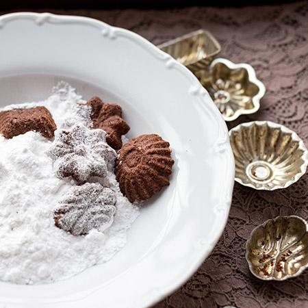 Kakaové pracny - recept krok 5