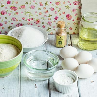 Jahodový dort - recept krok 1