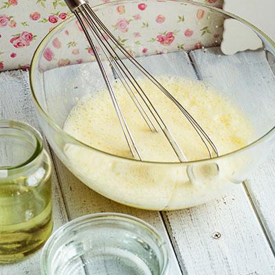 Jahodový dort - recept krok 2