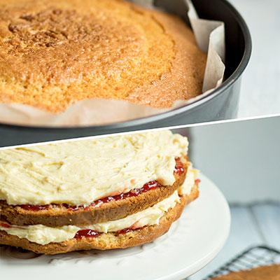 Jahodový dort - recept krok 7