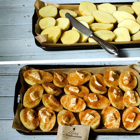 Gurmánské brambory - recept krok 2