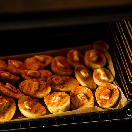 Gurmánské brambory - recept krok 3