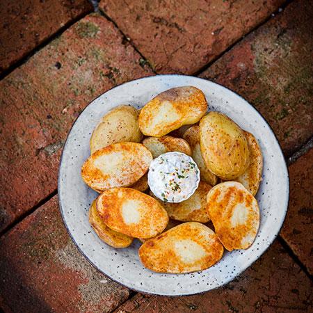 Gurmánské brambory - recept krok 5