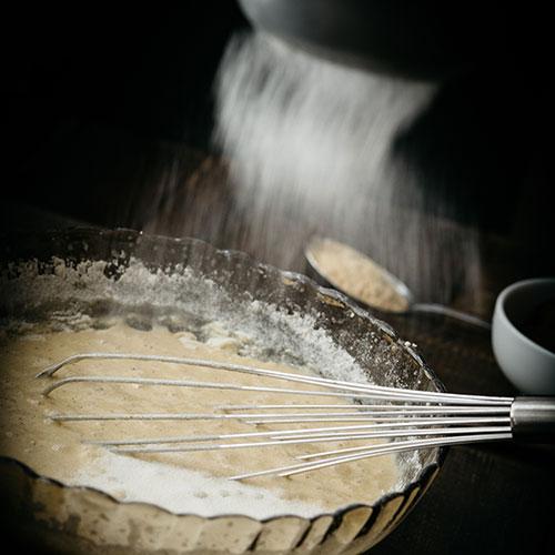 Třená mramorová bábovka - recept krok 2