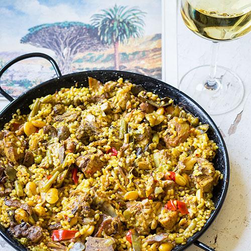 Paella z Oropesy del Mar – recept krok 10
