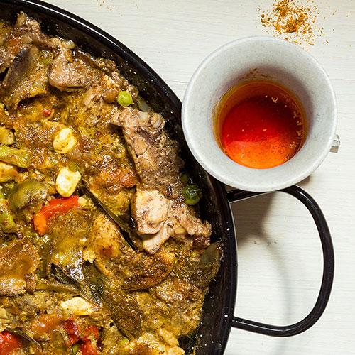 Paella z Oropesy del Mar – recept krok 7