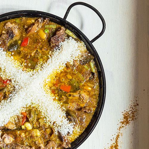 Paella z Oropesy del Mar – recept krok 8