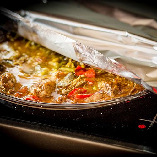 Paella z Oropesy del Mar – recept krok 9
