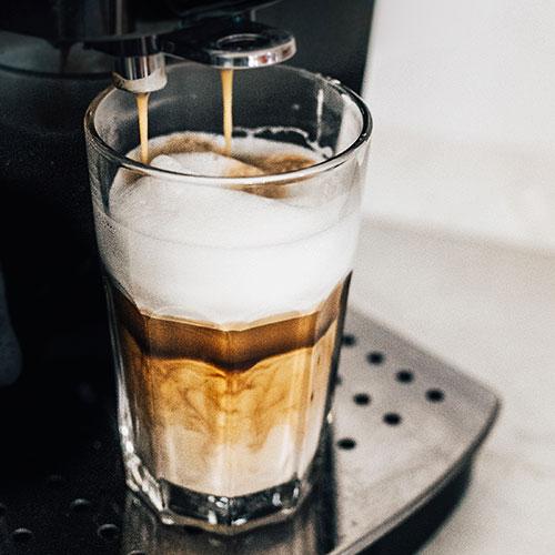 Dýňové latté – recept krok 1