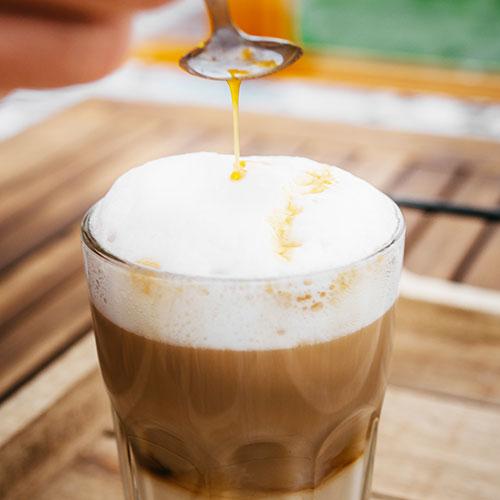 Dýňové latté – recept krok 2