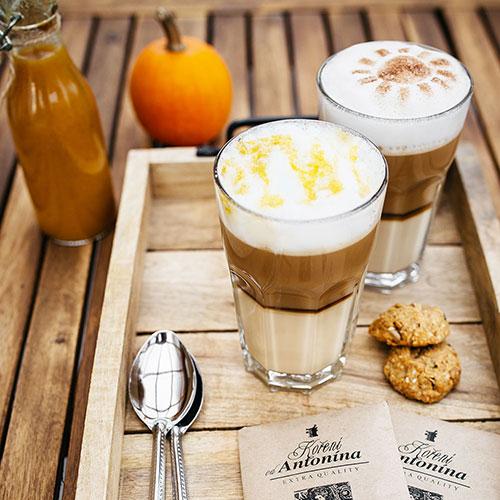 Dýňové latté – recept krok 3