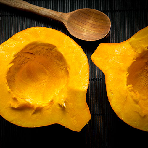 Dýňové pyré – recept krok 1