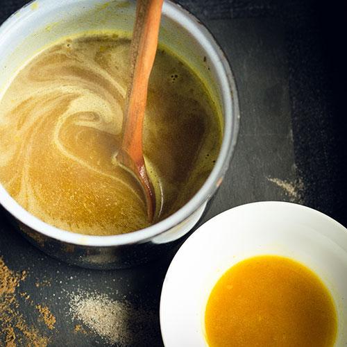 Dýňový sirup – recept krok 2