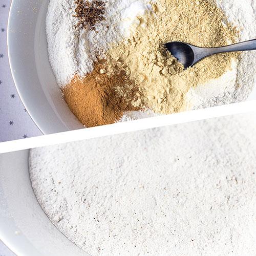 Zázvorové sušenky - recept krok 1