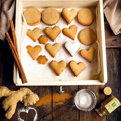 Zázvorové sušenky - recept krok 9