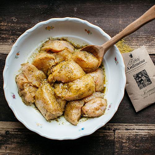 Kuře Marengo - recept krok 2
