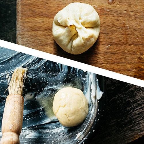 Chlupaté buchtičky - recept krok 11