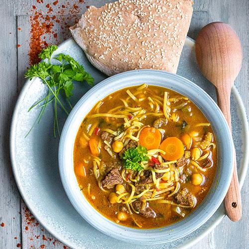 Marocká polévka Harira - recept krok 8