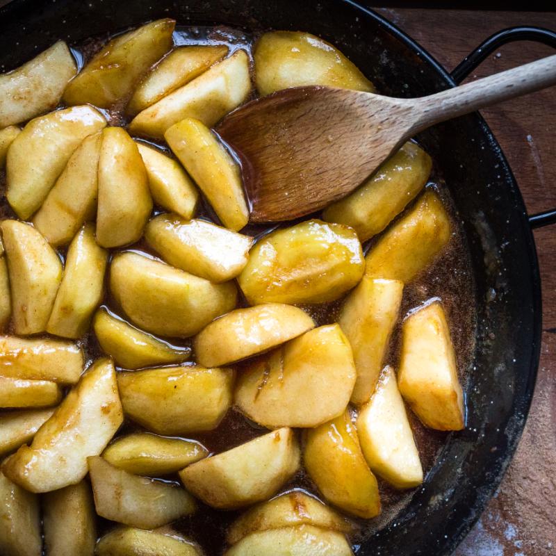 Jablečný tarte tatin - recept krok 6