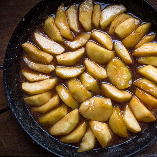 Jablečný tarte tatin - recept krok 8