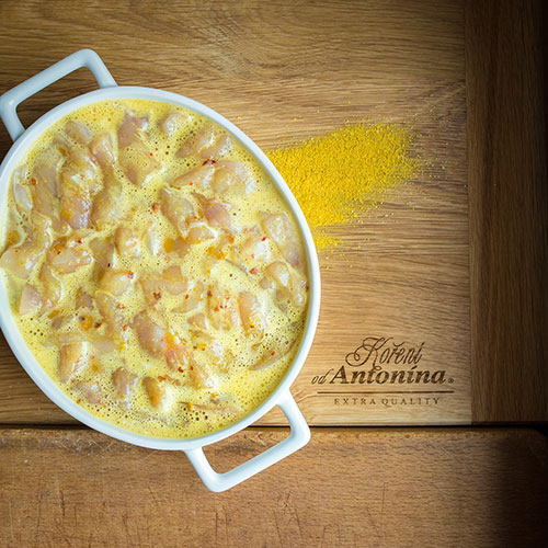 Kuřecí Chop suey - recept krok 1