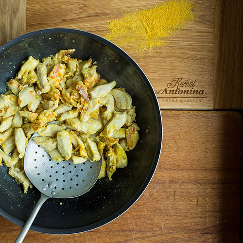 Kuřecí Chop suey - recept krok 3