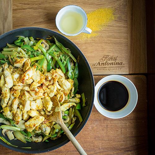 Kuřecí Chop suey - recept krok 6