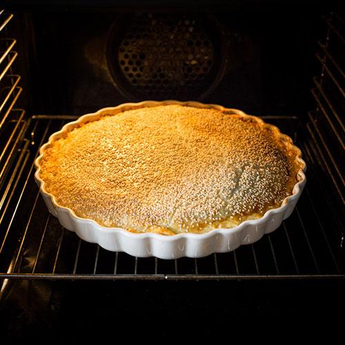 Špenátový pie s ricottou - recept krok 7