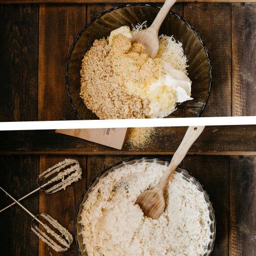 Topinková česneková pomazánka – recept krok 2