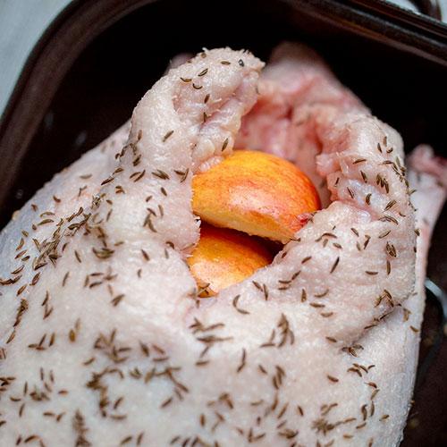 Svatomartinská husa – recept krok 2