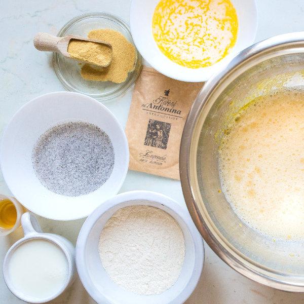 Třešňový koláč Clafoutis – recept krok 3