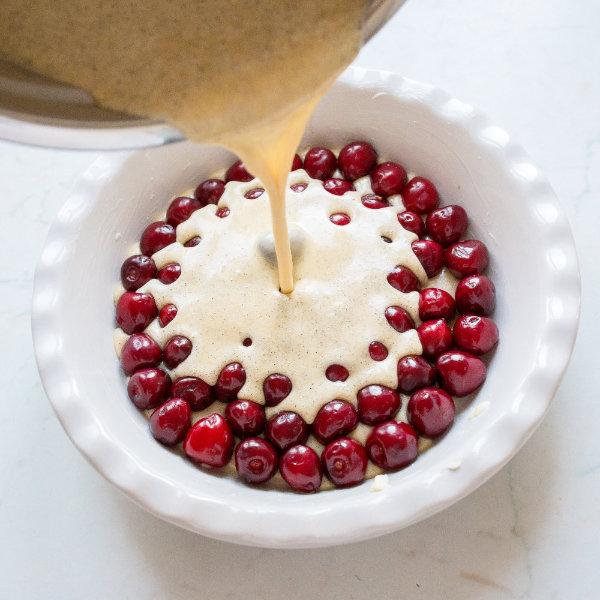 Třešňový koláč Clafoutis – recept krok 4